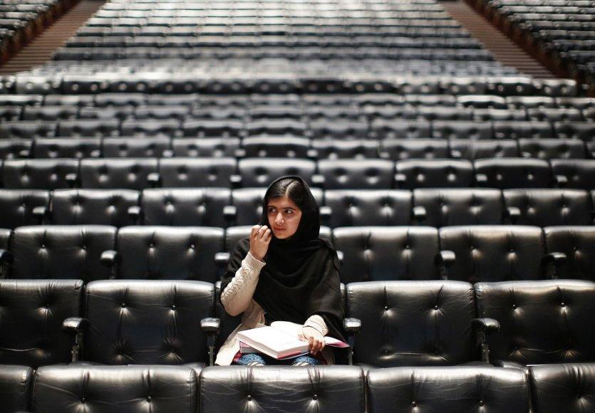 Pakistano aktyvistė Malala Yousafzai