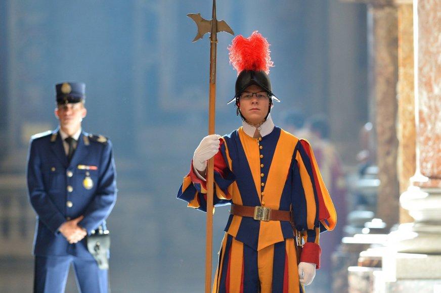 Vatikano šveicarų gvardijos narys