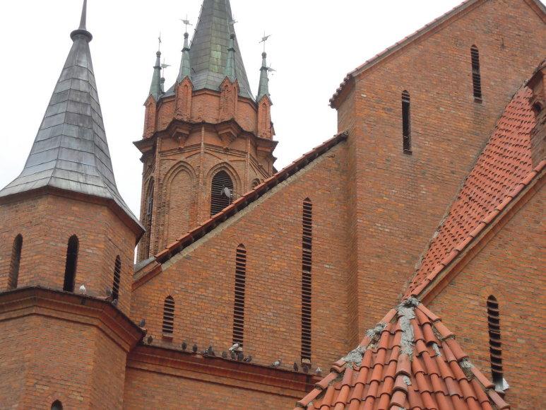 Druskininkų bažnyčią dengs restauruotas stogas.