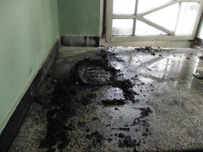 Kauno daugiabutyje sudegė vyras