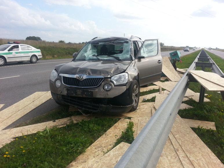 """Škoda"" po avarijos"