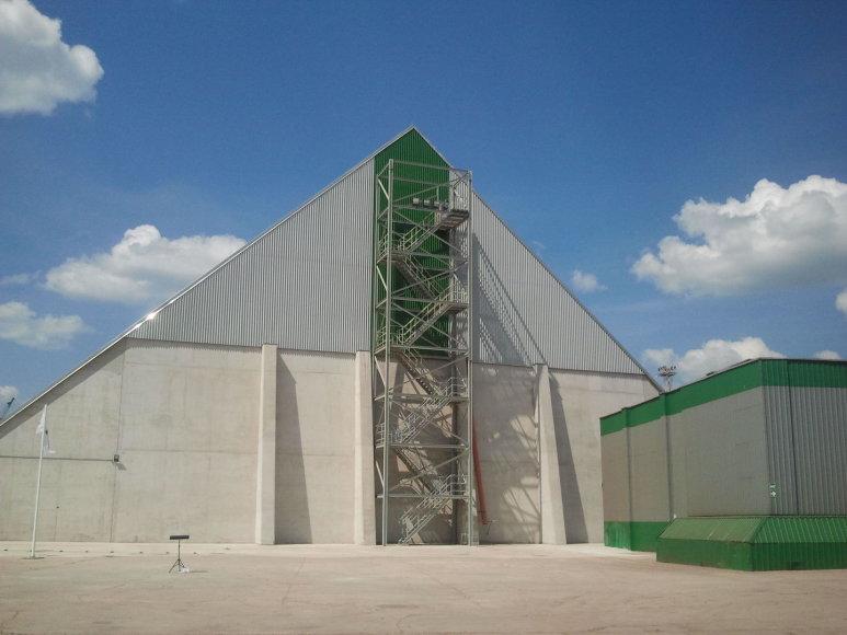 Klaipėdos uoste atidarytas naujas trąšų krovos sandėlys