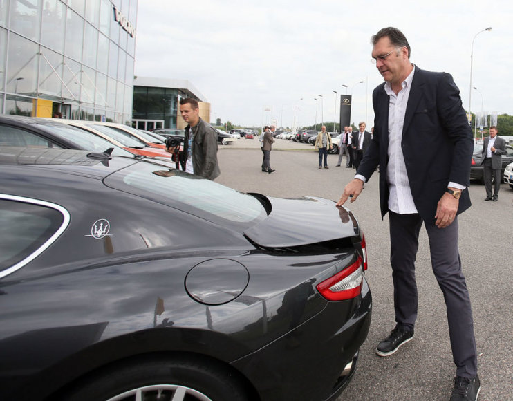 "Arvydo Sabonio ""Maserati"""