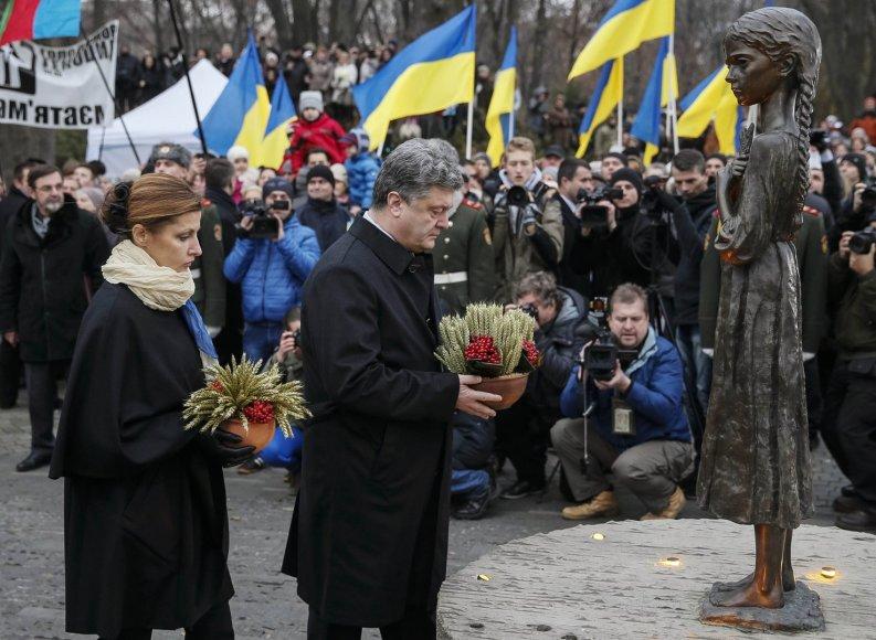 Ukrainoje minimos Holodomoro metinės.