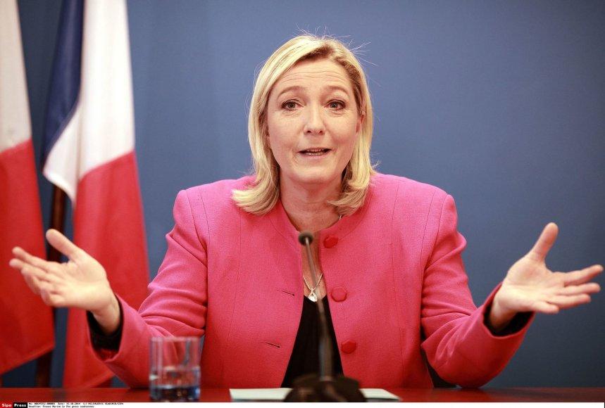 """Nacionalinio fronto"" lyderė Marine Le Pen"