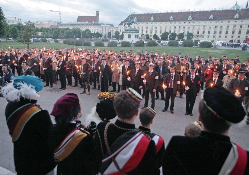 Karo pabaigos paminėjimas Vienoje