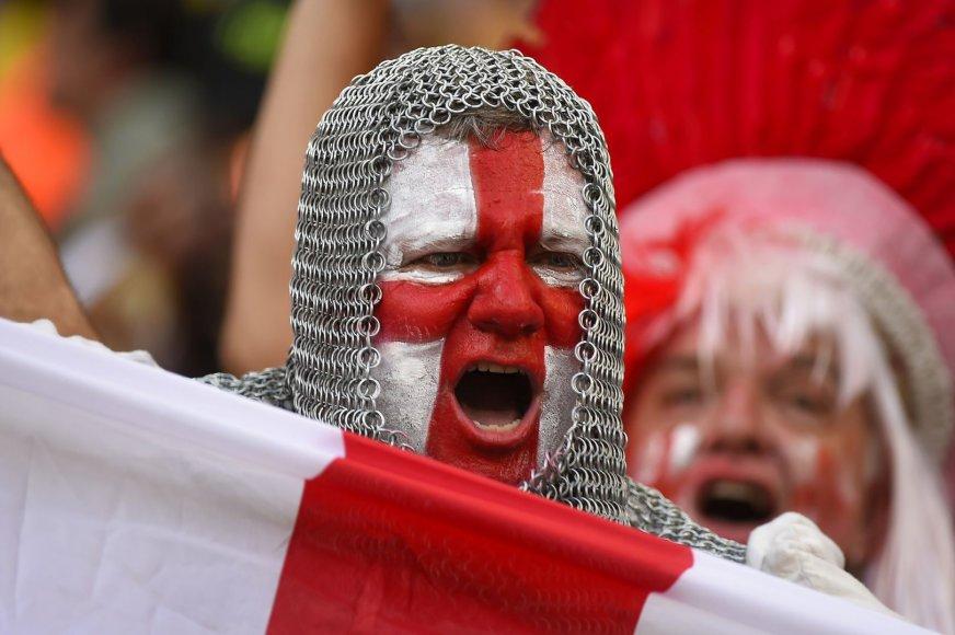 Anglijos futbolo rinktinės gerbėjas
