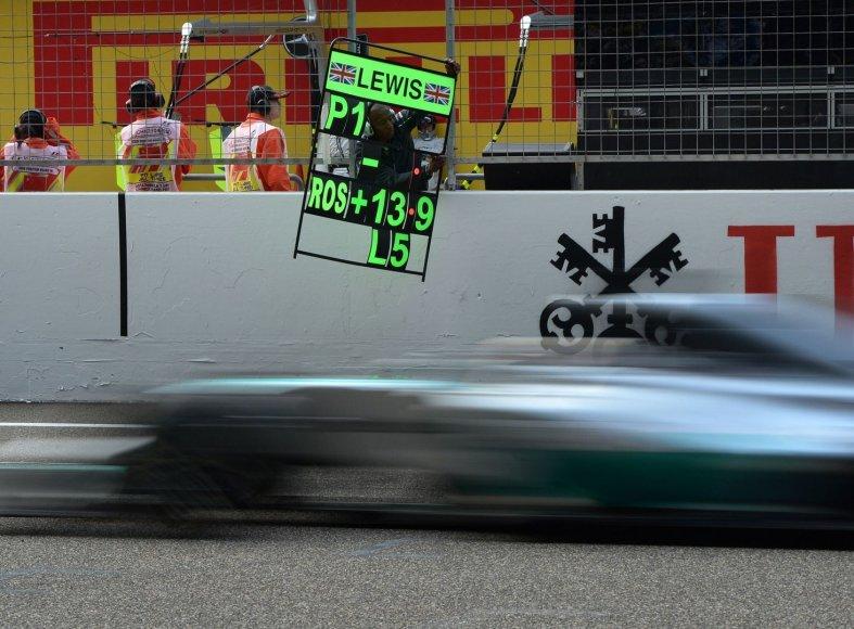 F-1 lenktynės Kinijoje