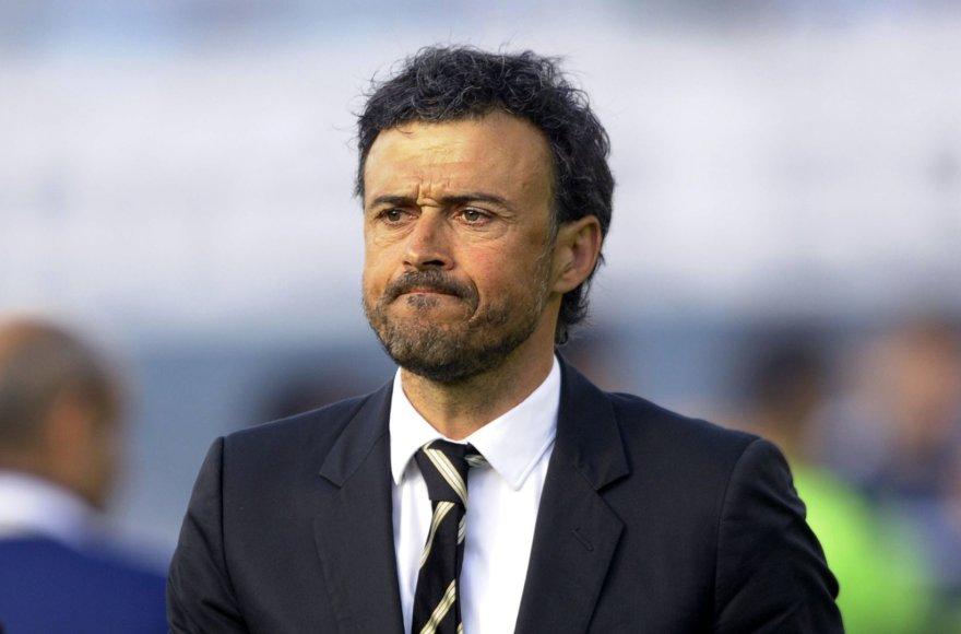 """""""Barcelona"""" treneris Luisas Enrique"""