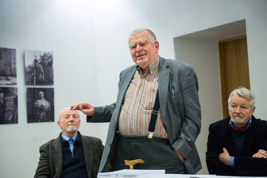 Fotografijos istorijos ir nūdienos susitikimai Lietuvos fotomenininkų sąjungoje (V.Juodakis) 2014 m. gruodžio 10 d.