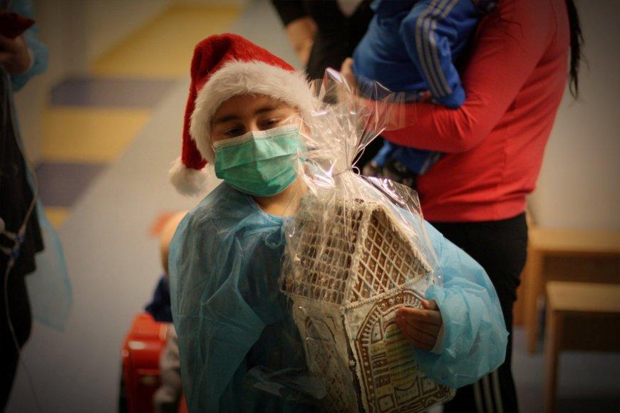 Ligoniukai sulaukė dovanų