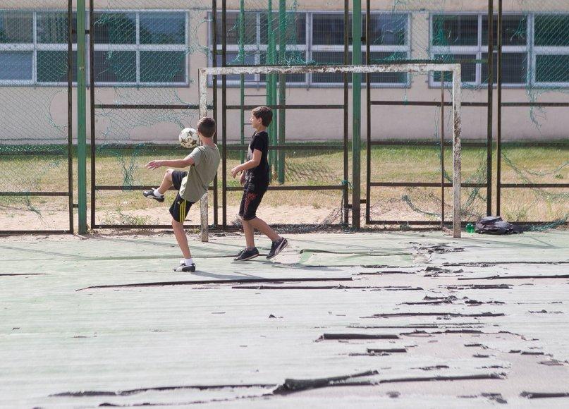 Vilniaus mokyklų sporto aikštynai.