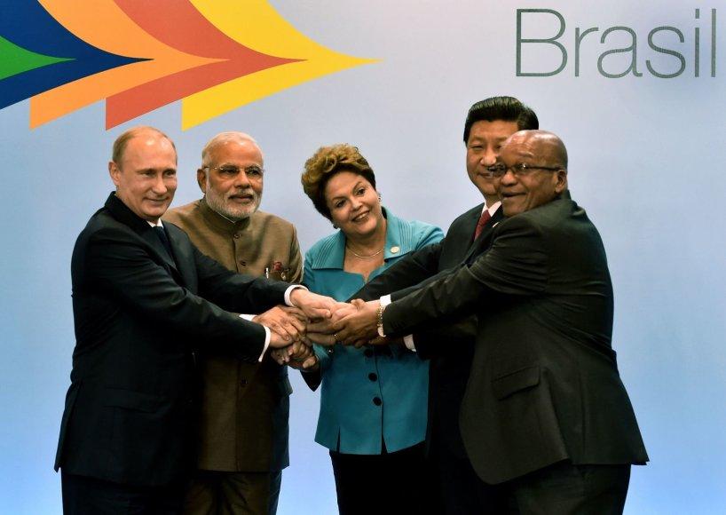 BRICS šalių lyderiai