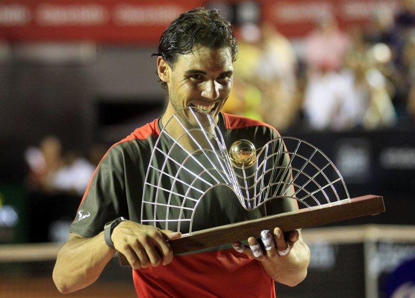 Rafaelis Nadalis triumfavo Rio de Žaneire