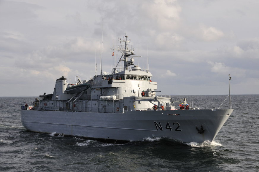 Karinių jūrų pajėgų Mokymo centre vyko Bazinis jūreivio kursas