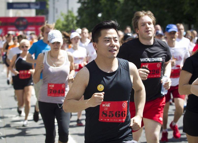 """""""We run Vilnius/DNB pusmaratonio"""" bėgimas"""