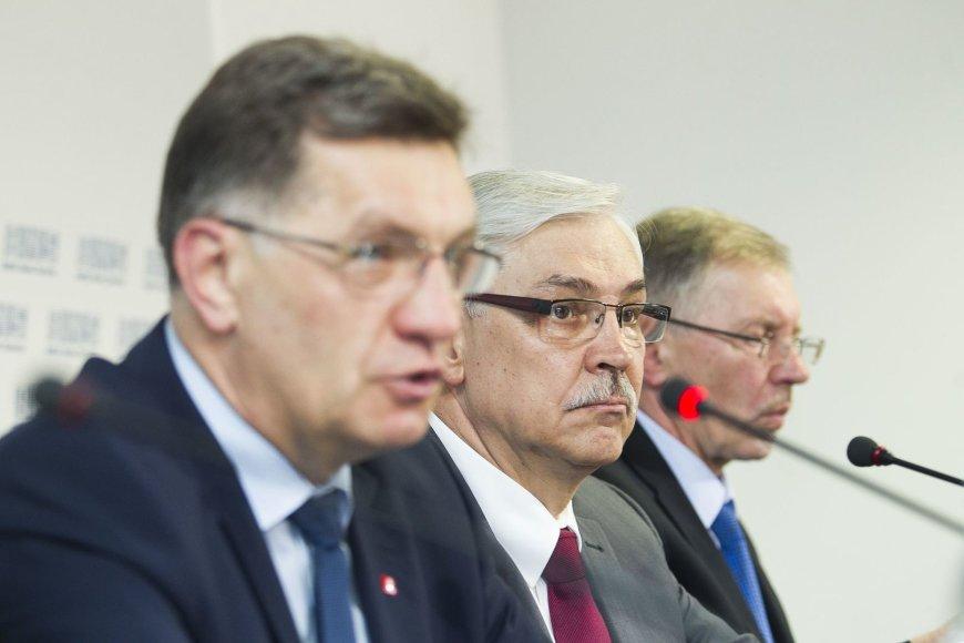 Algirdas Butkevičius , Zigmantas Balčytis ir Gediminas Kirkilas