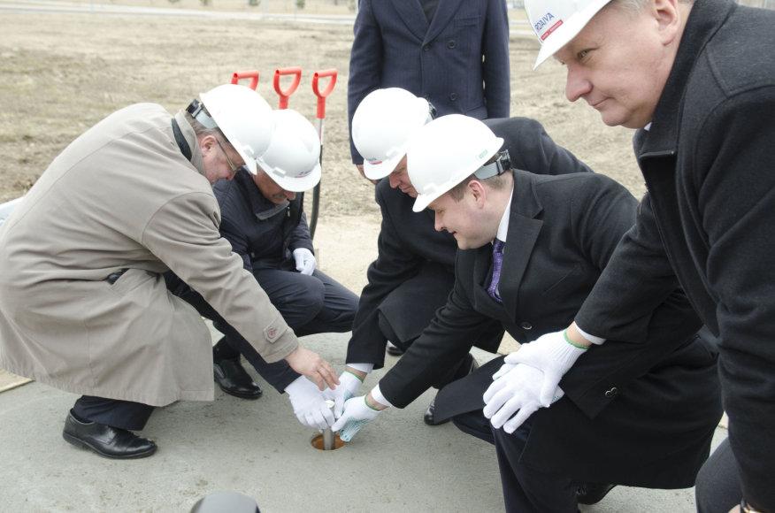 Oficialiai pradėtos Klaipėdos universiteto verslo inkubatoriaus statybos