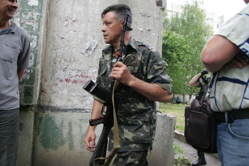 Prorusiški teroristai Luhanske