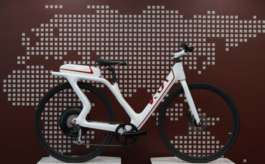 """Elektrinis """"Kia"""" dviratis"""