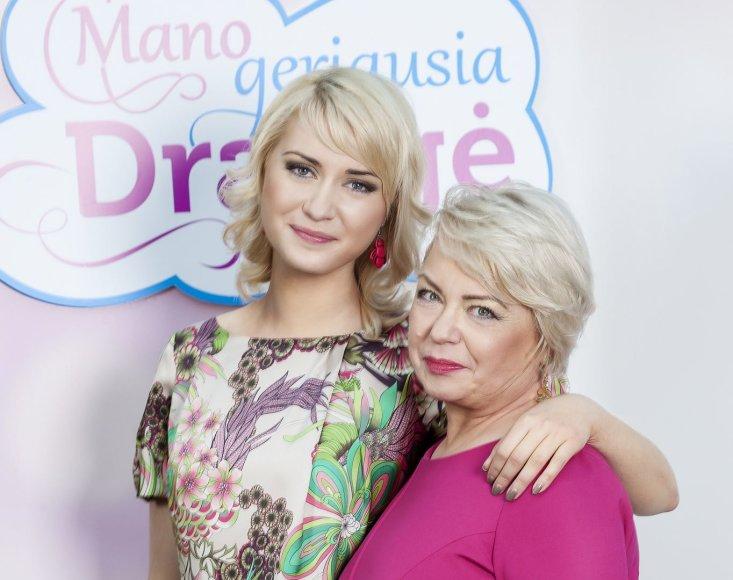 Raminta Vyšniauskaitė su mama Janina