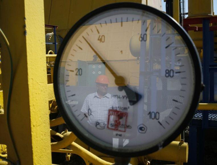 Dujotiekio spaudimas