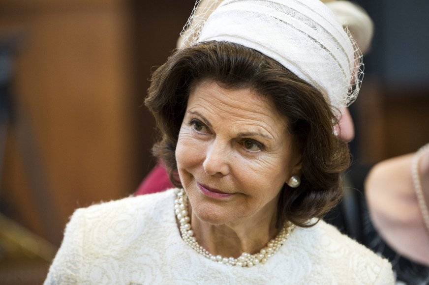 Švedijos karalienei Silviai – 70 metų