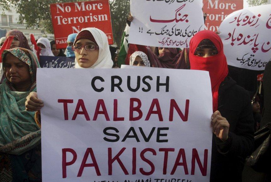 Protestas prieš Talibaną Pakistane