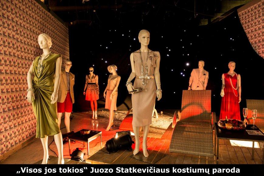 Juozo Statkevičiaus parodoje eksponuojami kostiumai