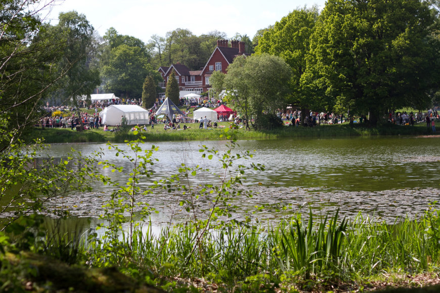 Headley parke įkurta Lietuvių sodyba