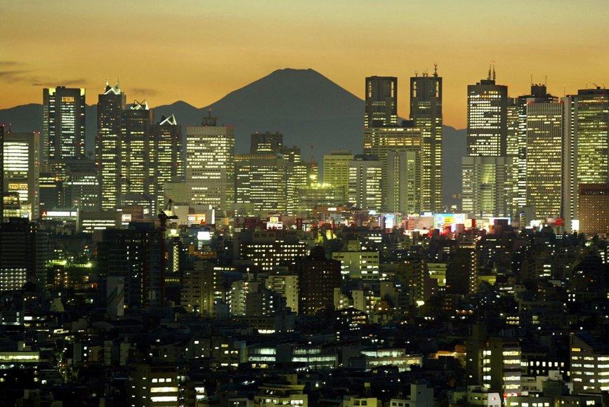 Japonijos sostinė Tokijas