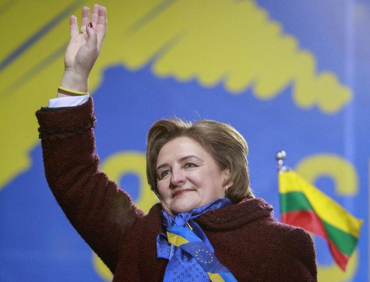 Loreta Graužinienė Ukrainoje
