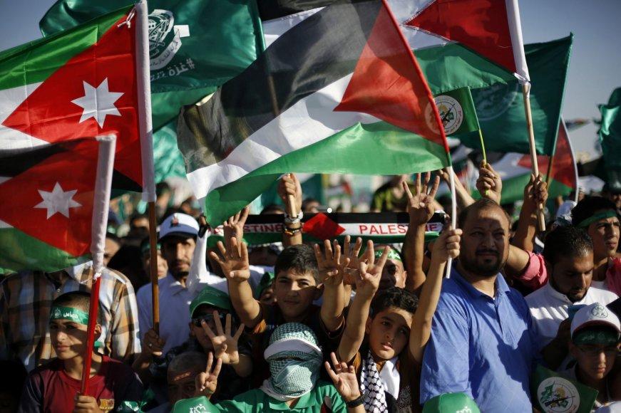 """""""Hamas"""" teroristų rėmėjai"""