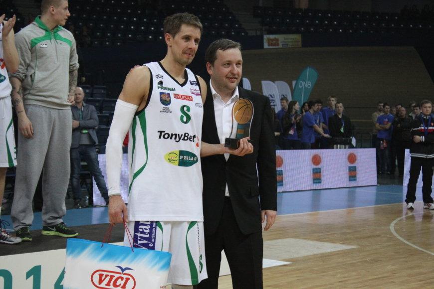 Mindaugas Lukauskis ir Antanas Guoga