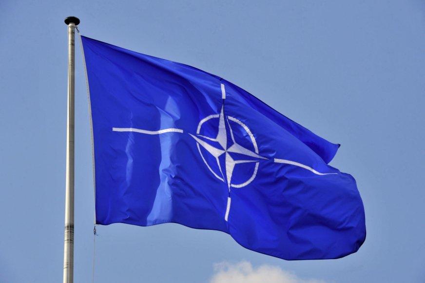 NATO vėliava