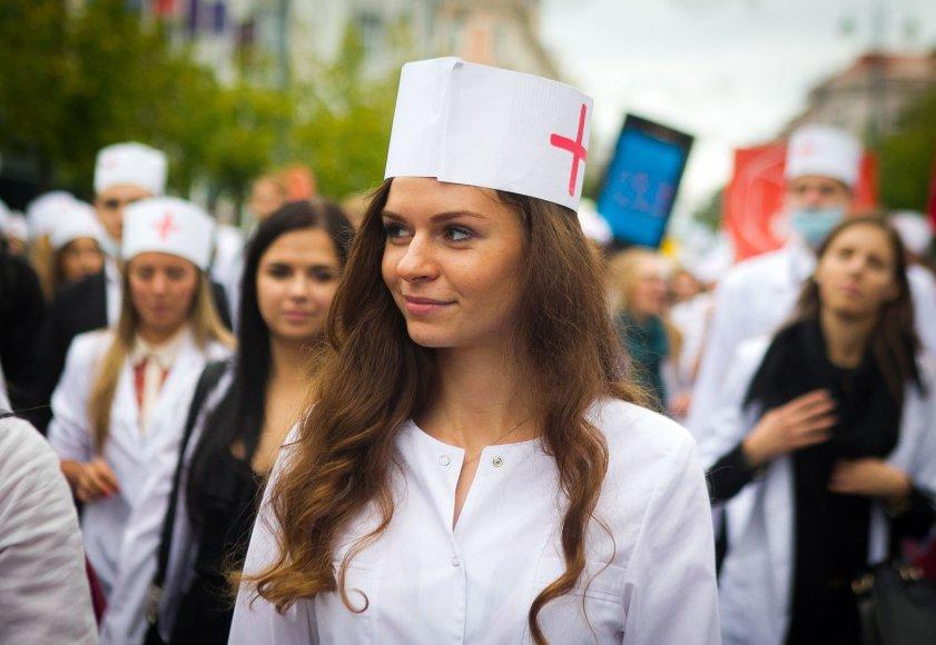 Vilniaus Universiteto (VU) studentai griausmingai paminėjo mokslo metų pradžią.