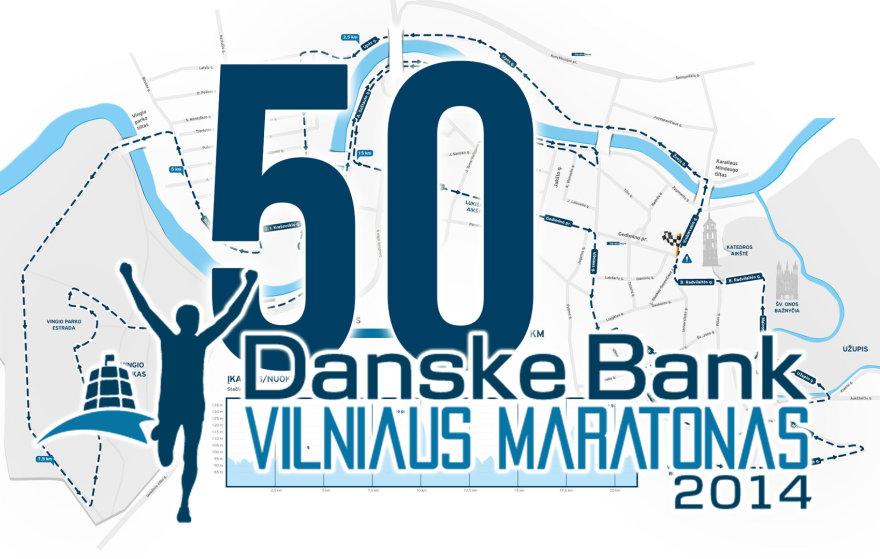 Liko 50 dienų iki Vilniaus maratono