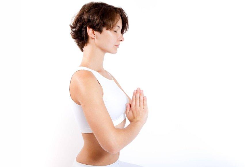 Kritinėmis dienomis labiausiai rekomenduojama joga
