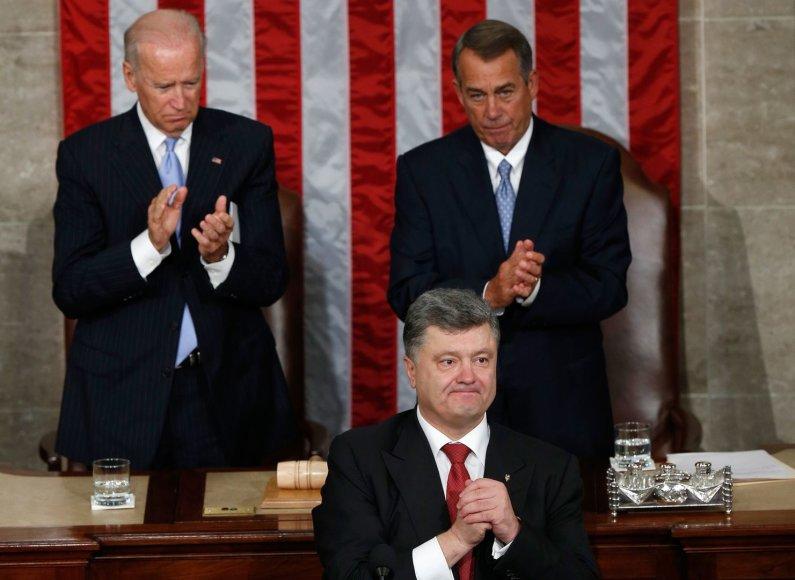 Petro Porošenka JAV Kongrese