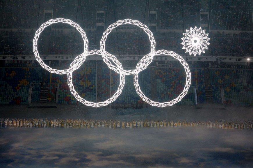 Sočio olimpinių žaidynių atidarymo ceremonija