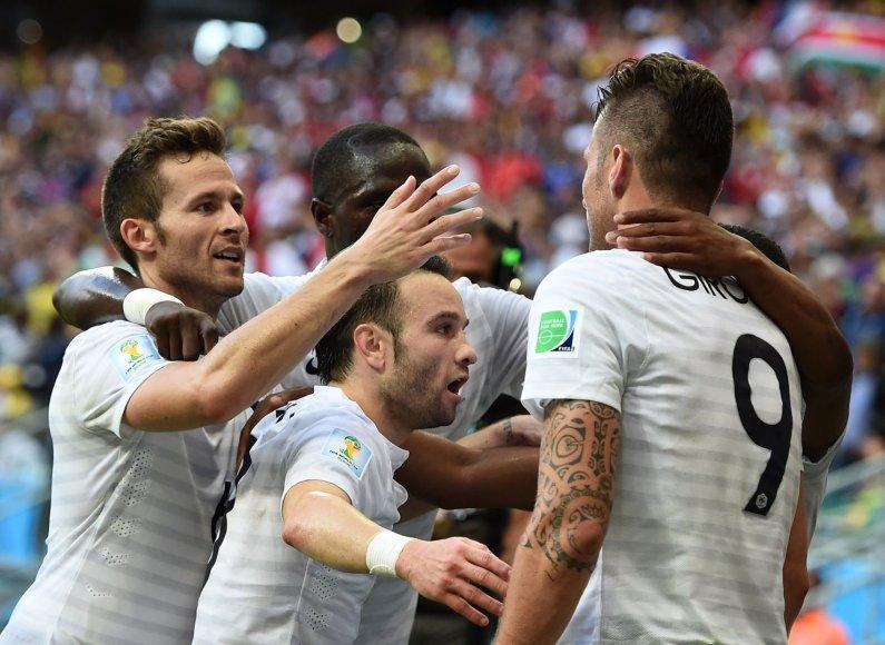 Prancūzija – kol kas neabejotinai geriausia grupių etapo komanda