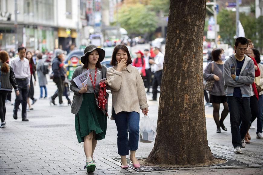 Pietų Korėjos sostinė Seulas