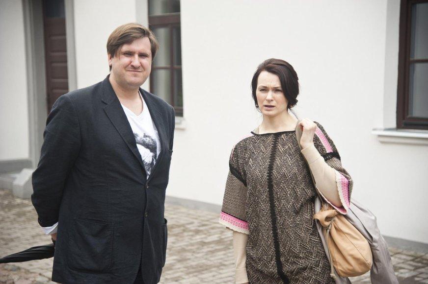 Gediminas Jaunius ir doc. dr. Jūratė Tutlytė. VDU nuotr.