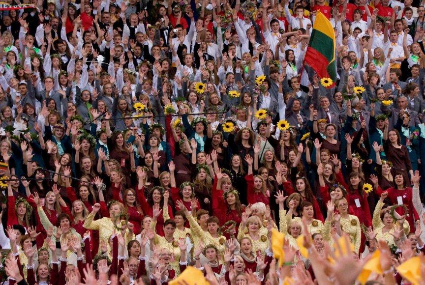 Tūkstantinis Dainų šventės choras suvienys viso pasaulio lietuvius.
