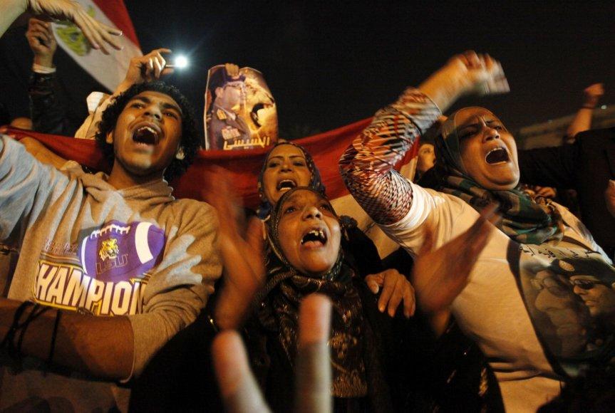 Egiptiečiai švenčia