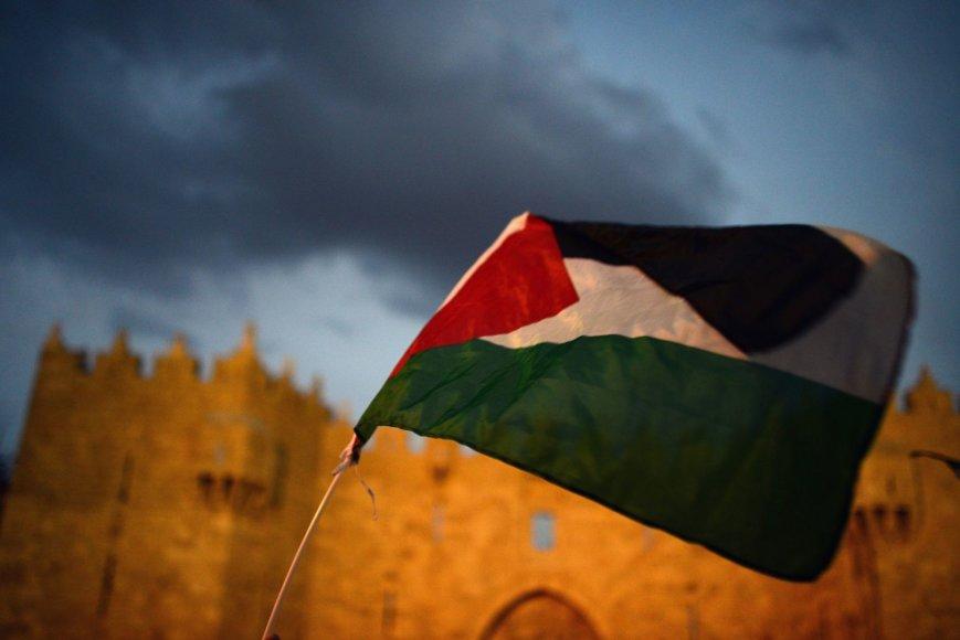 Palestiniečių vėliava