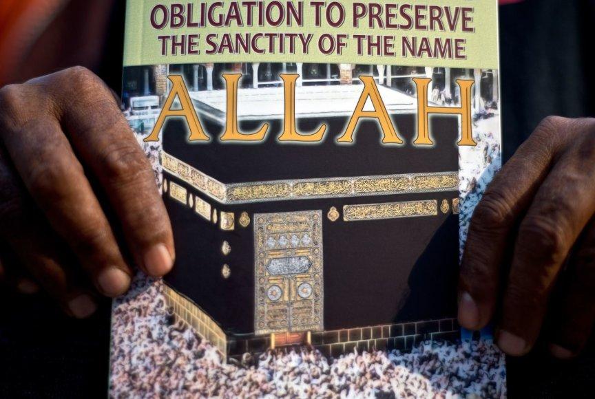 """Malaizijoje krikščionys pralaimėjo bylą dėl teisės naudoti žodį """"Allah"""""""