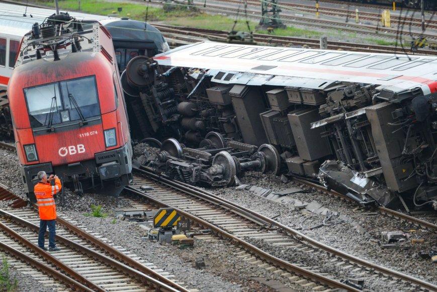 Traukinio avarija Vokietijoje