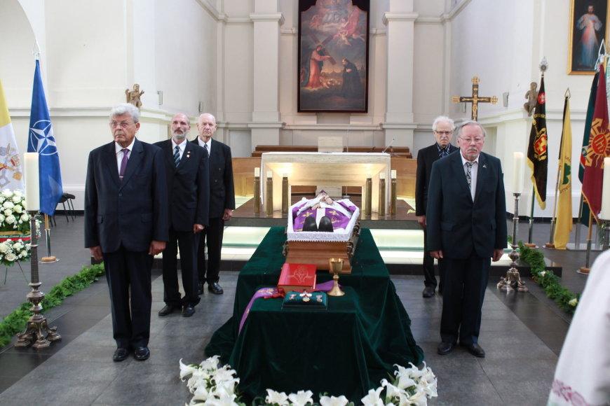 A.Svarinsko laidotuvės