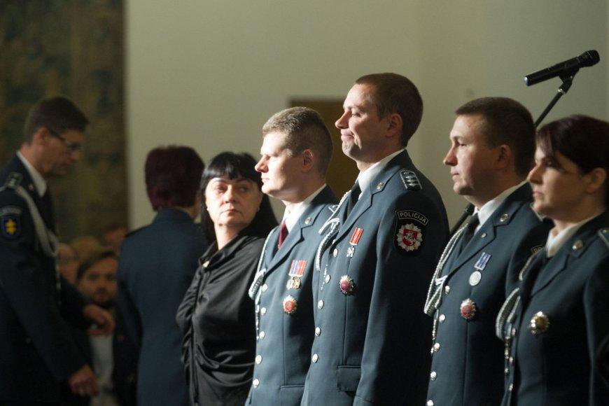 Policijos pareigūnai Angelų Sargų dieną paminėjo Valdovų rūmuose.